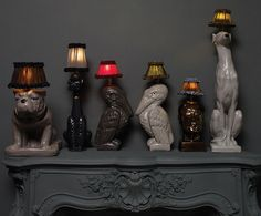 lampes kitsch