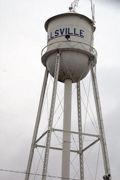 Wellsville,KS Watertower