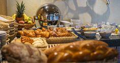 Breakfast at the Albergo-Caffè Carcani, Ascona Carcani Hotel Group Stuffed Mushrooms, Pure Products, Group, Vegetables, Breakfast, Food, Breakfast Cafe, Veggies, Essen