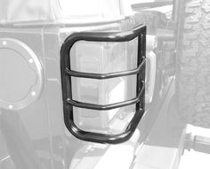MaxMate Premium Custom Fit 20072015 Jeep Wrangler WrapAround Tail Light Guards Black ** You can get more details by clicking on the image.