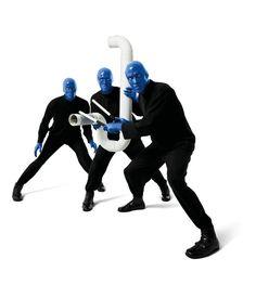 Blue Man Group, Musician, Blue, Designer Inspiration, Bar Napkin Productions, bnp-llc.com