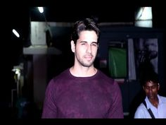 Sidharth Malhotra at special screening of BAAR BAAR DEKHO movie.
