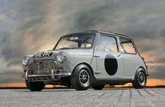 Austin Mini Cooper S very nice. Mini Cooper Classic, Mini Cooper S, Classic Mini, Classic Cars, Mk1, Mini Clubman, Mini Countryman, Retro Cars, Vintage Cars