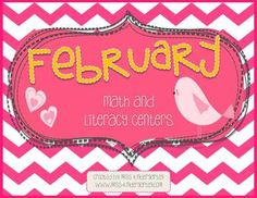 February Math and Literacy Centers {Bundled} Can't wait!