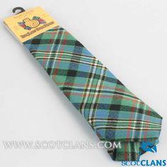 Clan Scott Green Ancient Tartan Tie