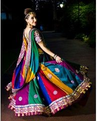 *Radharani Exclusive*     Pretty cute eu $250 multicoloured gopi skirt