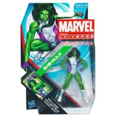 She Hulk Marvel Universe Action Figure -- More info could be found at the image url.