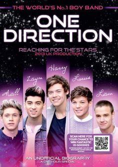 One Direction - Reaching For The Stars [DVD]: Amazon.co.uk: Niall Horan, Zayn Malik, Liam Payne, Harry Styles, Louis Tomlinson: Film & TV