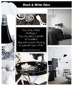 Black and white decor inspiration