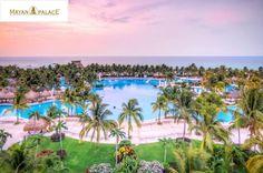 Cancun/MEX: 5 noites no Resort Mayan Palace com Pensão Completa + Open Bar para casal + 2 crianças de até 12 anos