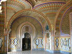 Sala dei pavoni - Castel of Sammezzano