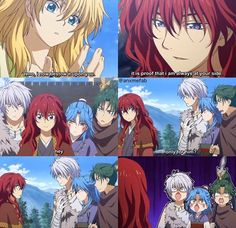 King Hiryu bears such a resemblance to Yona with his coloring, and Soo-won with his ruling attitude and charisma