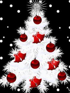Merry Christmas & Happy New Year ! Christmas Tree Gif, Merry Christmas Pictures, Christmas Scenery, Very Merry Christmas, Christmas Themes, Christmas Tree Decorations, Christmas Lights, Vintage Christmas, Holiday Gif