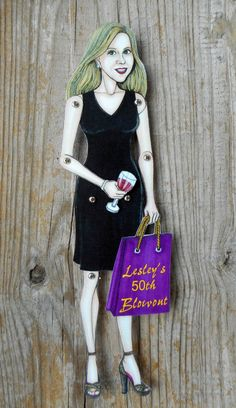 Custom Articulated Paper Doll,Personalized,Made to Order,Handmade,Realistic