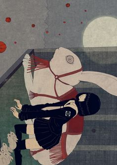 chibakotaro in progress  a professional illustrator in niigata Japan