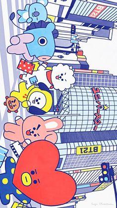 Shop KPOP fandom merch including BTS, TXT, Blackpink, Seventeen, and many more fandoms! Shop KPOP apparel and accessories. Bts Chibi, Bts Lockscreen, Bts Drawings, Line Friends, Billboard Music Awards, Kpop, Bts Fans, About Bts, Bts Wallpaper