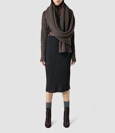 Womens Quinta Wrap (Slate Black) - product_image_alt_text_1