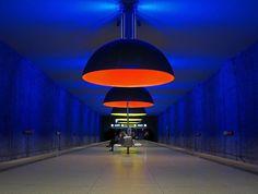 metro Westfriedhof Station, Munich