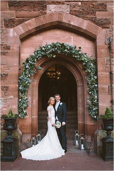 Peckforton Castle Wedding Photographs / Anna and Ian | Jonny Draper Blog. Flowers by The Flower Lounge, www.didsburyflowerlounge.co.uk