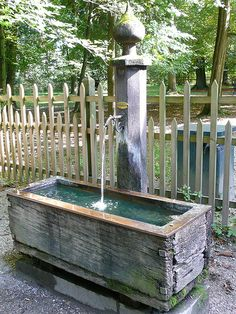 Pump and water trough - www.DrewryNewsNetwork.com