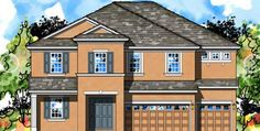 Waterleaf Homes By WestBay Riverview - Zest Team at HomeXpress Realty Riverview FL Riverview Florida, New Home Builders, New Homes, Floor Plans, Mansions, House Styles, Building, Home Decor, Decoration Home