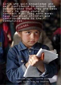 educate a girl #tailoredforeducation