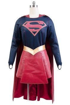 Supergirl Kara Zor-El Flying suit cosplay costume