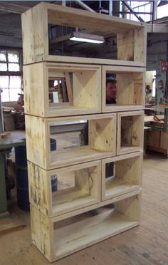 hlaf this for entry storage?? warehouse box shelf standard. ply