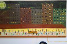 Periodic Table, Diagram, Oil, Painting, Periodic Table Chart, Periotic Table, Painting Art, Paintings, Painted Canvas