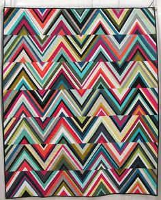 Triangles Quilt by Tara Faughnan, Oakland, California.