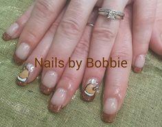 Thanksgiving Nails. #head2toesalon #nailsbybobbie