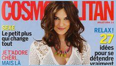 IRIS, Une Innovation Brevetée - dans le magazine « Cosmopolitan » (Juillet 2014).