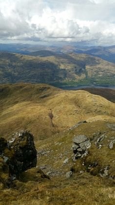 Loch Lomond from the top of Ben Lomond, Scotland