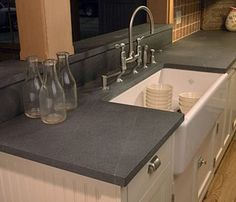 Soapstone countertops-Kitchen and Residential Design: Reader Question: New lighting in my kitchen?