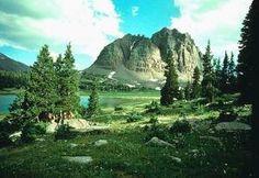 high Uinta-Wasatch mountains in Utah