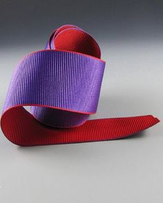 Grosgrain Ribbon ~ Purple and Red