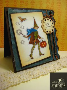 Waltzingmouse Makes...: ...Cicely at Halloween