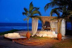 Exotic Escape Under The Brazilian Sun: Nannai Beach Resort in Porto de Galinhas - Pernambuco Definitely doing this! Romantic Holiday Destinations, Most Romantic Places, Romantic Getaways, Wonderful Places, Beautiful Places, Amazing Places, Romantic Beach, Romantic Evening, Dream Vacations
