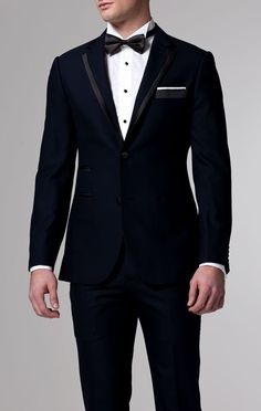 Classic Midnight Blue Tuxedo