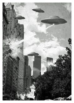 """""""Earth vs. the Flying Saucers""""   1956."""