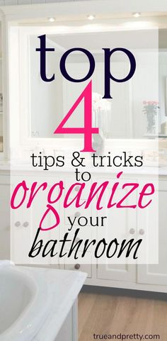 Top 4 Tips and Tricks to Organizing your Bathroom! These hacks are great Organizing Ideas for your Bathroom! Bathroom Drawing, Mold In Bathroom, Bathroom Ideas, Bathroom Cleaning, Bathroom Caulk, Ikea Organization, Bathroom Organisation, Bathroom Storage, Organizing Your Home