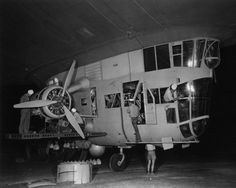 Crew works on K-84 after flight from Lakehurst NJ to Fortaleza Brazil. www.airshipcenter.com