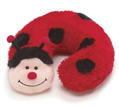 Ladybug Neck Pillow for baby