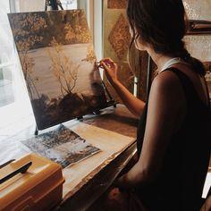 get creative and artsy Artist Life, Artist At Work, Creation Art, Artist Aesthetic, Art Hoe, Learn To Paint, Art Design, Storyboard, Art Studios