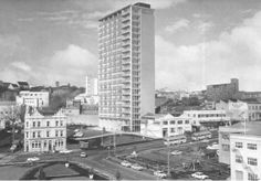Bill ✔️  Auckland Council's Civic Building, 1966    Bill Gibson-Patmore.  (curation & caption: @BillGP). Bill✔️ Auckland New Zealand, My Family History, Caption, South Africa, New York Skyline, The Neighbourhood, The Past, Shots, Posters