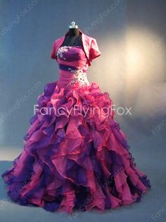 fancyflyingfox.com Offers High Quality Perfect Princess Quinceanera Dress with Short Jacket,Priced At Only US$235.00 (Free Shipping)