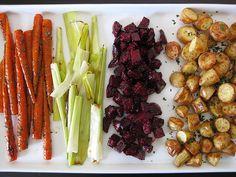roasted root vegetables vinaigrette