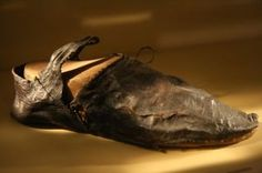 Medieval leather shoe Cluny  xti_9119