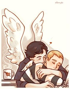 I'll Keep You Safe by gorryb. Sherlock Bbc, Sherlock Fandom, Johnlock, Lgbt, Elementary My Dear Watson, Dr Watson, Benedict And Martin, Sherlolly, Broadchurch