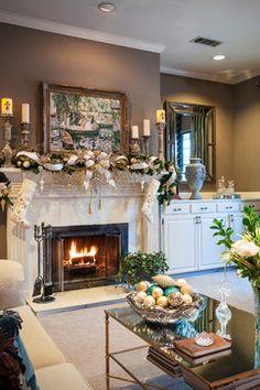 Christmas Decorating traditional-living-room